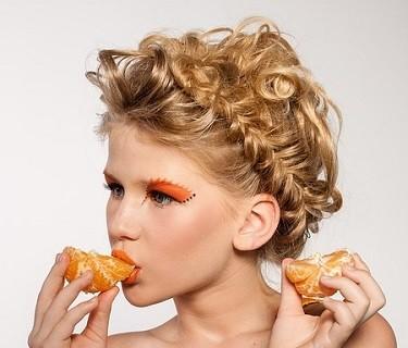 Kosmetik Haare Beauty Hochsteckfrisur